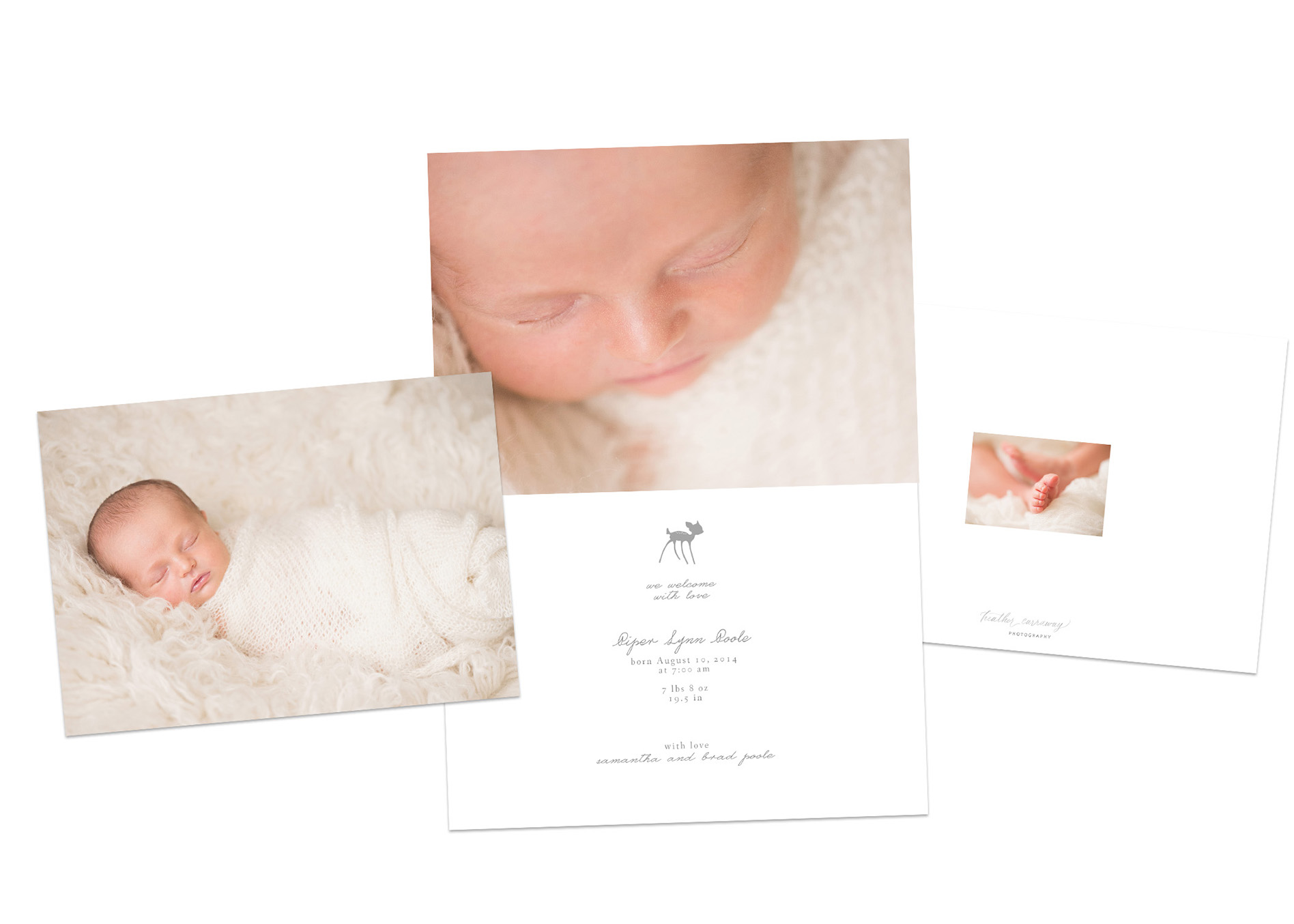 Birth Announcement Email Template Ideas – Birth Announcement Email Template