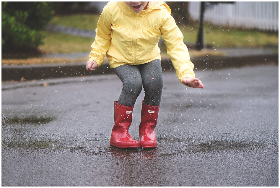 lifestyle photographer, click pro, clickin moms, daily project, 365, rainy day, hunter boots